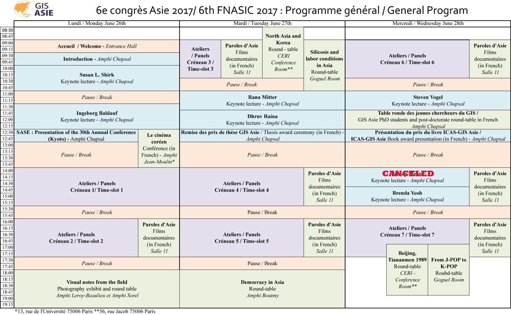 General Conference Program
